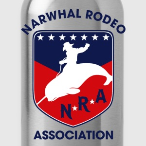 Narwhal Rodeo Association Long Sleeve Shirts - Water Bottle
