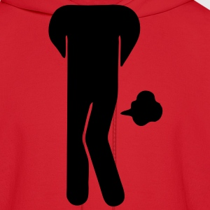 Funny Farting Restrooms / Toilet Sign (Headless) Women's T-Shirts - Men's Hoodie