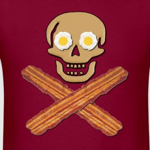 Bacon Pirate Food Hoodies - Men's T-Shirt