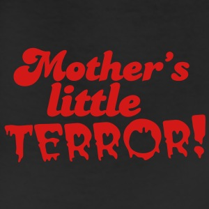 mother's little terror! with blood dripping font Baby Bodysuits - Leggings