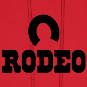 rodeo with horseshoe Baby Bodysuits - Men's Hoodie