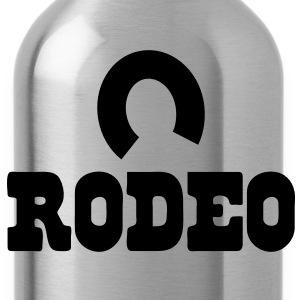 rodeo with horseshoe Baby Bodysuits - Water Bottle