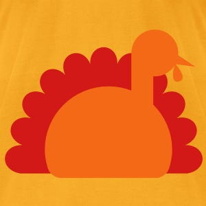 TURKEY for thanksgiving Bags  - Men's T-Shirt by American Apparel