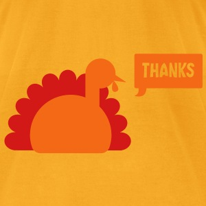 TURKEY THANKS  Bags  - Men's T-Shirt by American Apparel