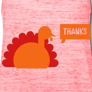TURKEY THANKS  Bags  - Women's Flowy Tank Top by Bella