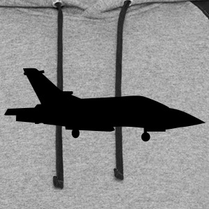 Fighter Jet T-Shirts - Colorblock Hoodie