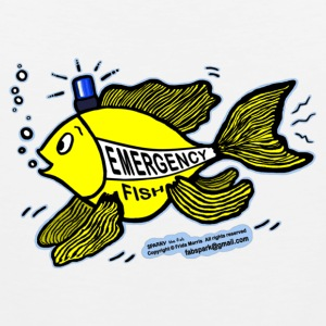 Emergency Fish Blue Light - Men's Premium Tank