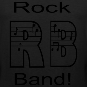 Rock Band - Men's Premium Tank