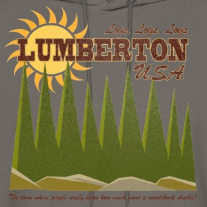 Lumberton, USA [Blue Velvet] T-Shirts - Men's Hoodie