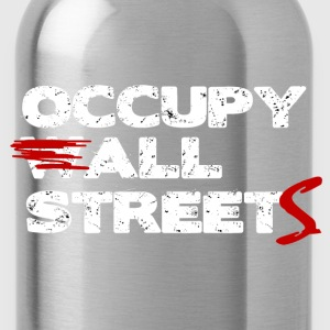 Occupy ALL Streets - Wall Street Shirt Hoodies - Water Bottle