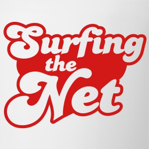 Surfing the Net Buttons - Coffee/Tea Mug