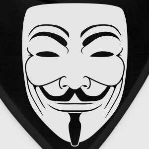 Anonymous Guy Fawks Mask _v1 1_Color Vector - Bandana