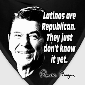 Reagan Quote Latinos Are Republican Hoodies - Bandana