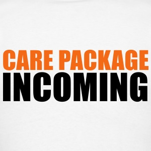 CARE PACKAGE INCOMING Polo Shirts - Men's T-Shirt