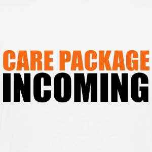 CARE PACKAGE INCOMING Polo Shirts - Men's Premium T-Shirt