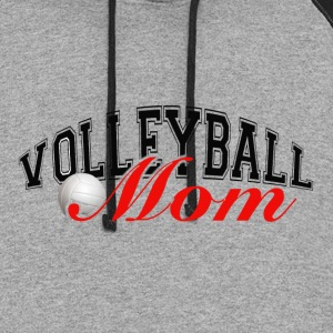 Volleyball Mom 2 - Colorblock Hoodie