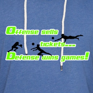 Defense Sells - Unisex Lightweight Terry Hoodie