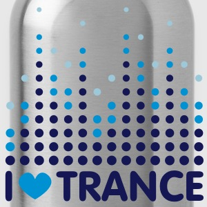 I Love Trance Men's T-shirts - Water Bottle