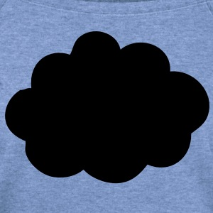 This is a Cloud T-Shirts - Women's Wideneck Sweatshirt