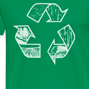 Recycle Hoodie - Men's Premium T-Shirt