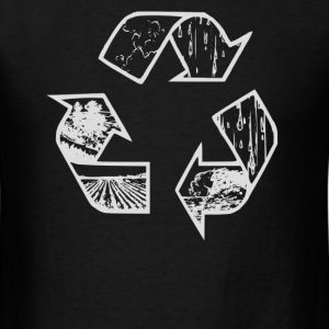 Recycle Hoodie - Men's T-Shirt