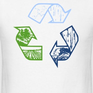 Recycle long sleeve tee - Men's T-Shirt