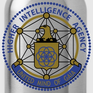 Higher Intelligence Agency Men's Hoodie - Water Bottle