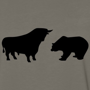 Bear bull T-Shirts - Men's Premium Long Sleeve T-Shirt