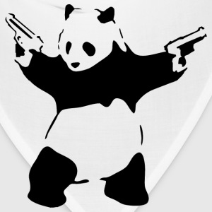 Panda with Guns - Bandana