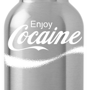 Enjoy Cocaine Hoodies - Water Bottle