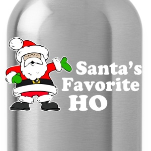 Santa's Favorite Ho Women's T-Shirts - Water Bottle