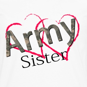 armysister Women's T-Shirts - Men's Premium Long Sleeve T-Shirt