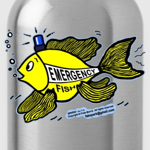 Emergency Fish Blue Light - Water Bottle