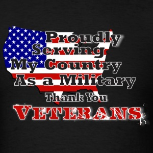 Thank You Veterans - Men's T-Shirt