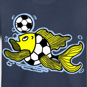 Football Fish (Soccer), Fish Playing football  - Toddler Premium T-Shirt