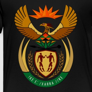 South Africa Coat of Arms Kids' Shirts - Toddler Premium T-Shirt