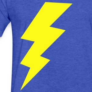 blitz thunder storm flash Sweatshirts - Fitted Cotton/Poly T-Shirt by Next Level