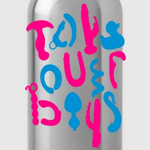 Toys over boys [2] Women's T-Shirts - Water Bottle