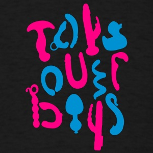 Toys over boys [2] Hoodies - Men's T-Shirt