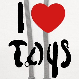 I love toys Tanks - Contrast Hoodie