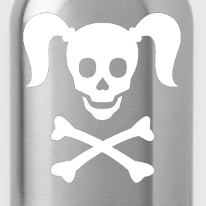 Girlie Pirate - Water Bottle