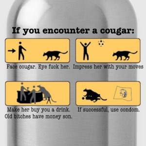 DIY Cougar Hunting - Water Bottle