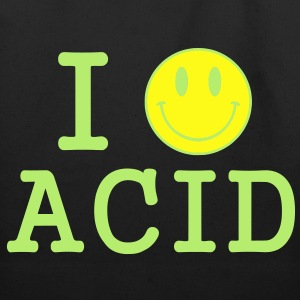 I love Acid / LSD / Drugs T-Shirts - Eco-Friendly Cotton Tote
