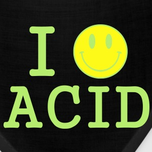 I love Acid / LSD / Drugs T-Shirts - Bandana