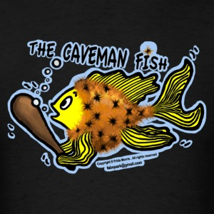 Caveman Fish - Men's T-Shirt