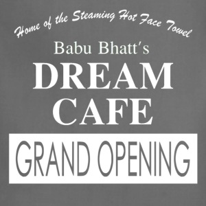 Babu Bhatt's DREAM CAFE (Seinfeld) - Adjustable Apron