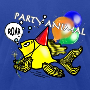 Party Animal Fish - Sparky Range T-shirt - Men's T-Shirt by American Apparel