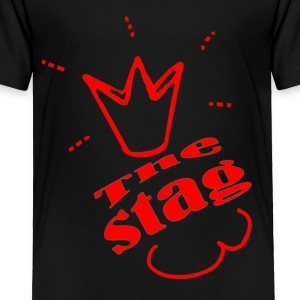 The Stag Bachelor party - Toddler Premium T-Shirt