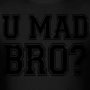 U Mad Bro? Long Sleeve Shirts - stayflyclothing.com  - Men's T-Shirt