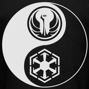 1 Logo - Star Wars The Old Republic - Yin Yang (3XL) - Men's T-Shirt